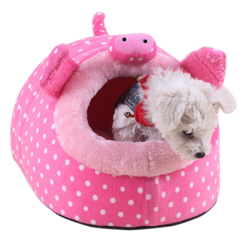 Guinea Pig  Hamster Nest Cage Bed Small Animal House Warm Pa